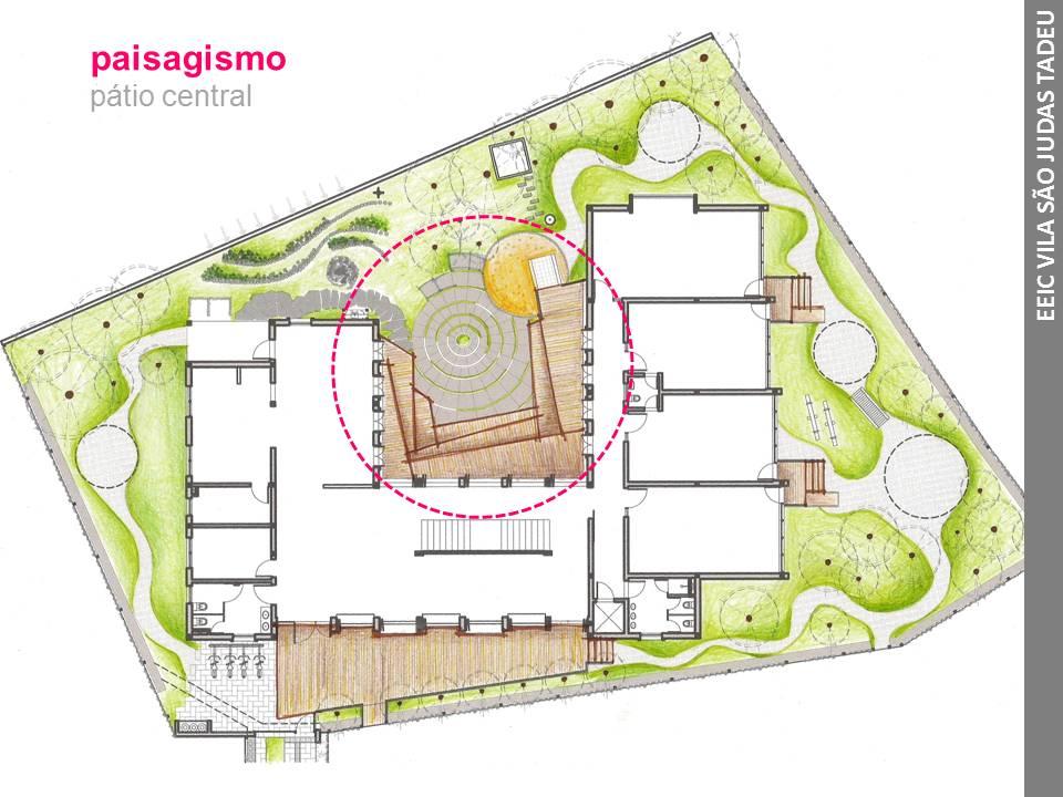 Projeto arquitetônico centro cultural e assistencia social 2